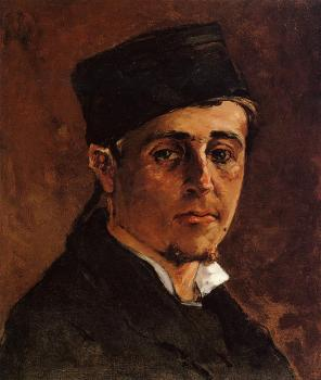 Paul Gauguin : Man with a Toque