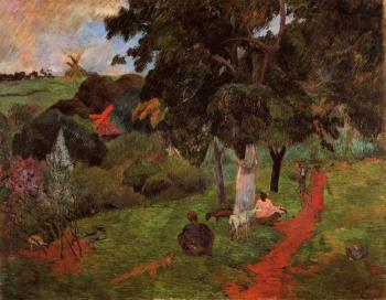Paul Gauguin : Martinique Landscape II
