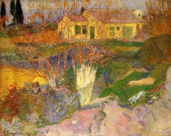 Paul Gauguin : Mas, near Arles