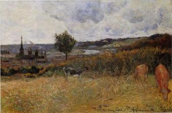 Paul Gauguin : Near Rouen