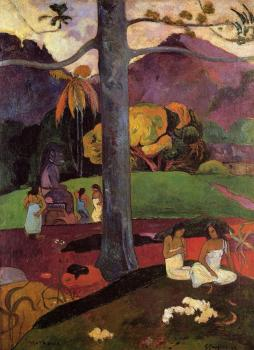 Paul Gauguin : Near the Sea