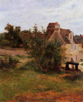 Paul Gauguin : Osny, the Gate, Busagny Farm