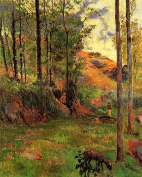 Paul Gauguin : Path down to the Aven