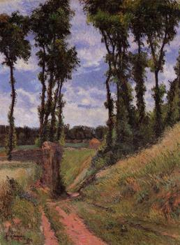 Paul Gauguin : Poplars, Osny