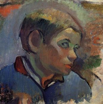 Paul Gauguin : Portrait of a Little Boy