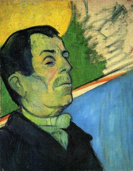 Paul Gauguin : Portrait of a Man Wearing a Lavalliere