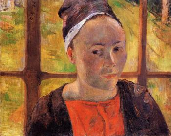 Paul Gauguin : Portrait of a Woman