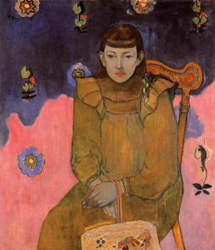 Paul Gauguin : Portrait of a Young Woman