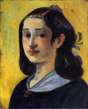 Paul Gauguin : Portrait of Aline Gauguin