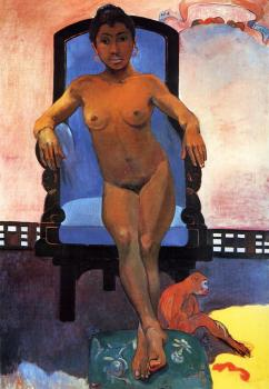 Paul Gauguin : Portrait of Annah the Javanese