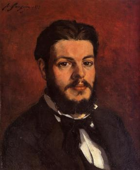 Paul Gauguin : Portrait of Claude Antoine Charles Favre