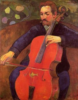 Paul Gauguin : Portrait of Fritz Scheklud