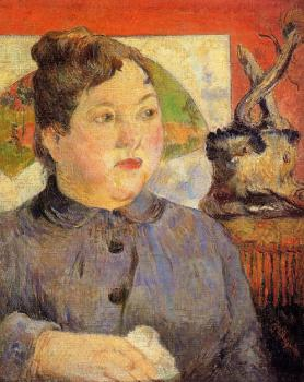 Paul Gauguin : Portrait of Madame Alexander Kholer
