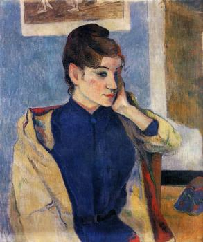 Paul Gauguin : Portrait of Madeline Bernard