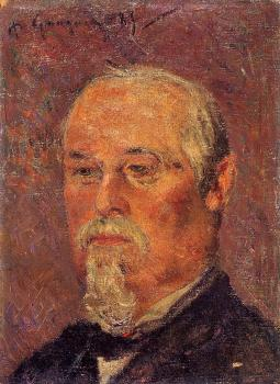 Paul Gauguin : Portrait of Philibert Favre
