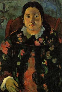Paul Gauguin : Portrait of Suzanne Bambridge