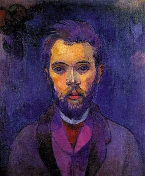 Paul Gauguin : Portrait of William Molard