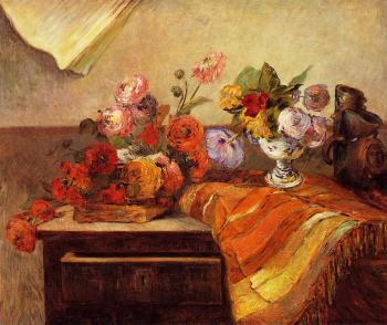 Paul Gauguin : Pots and Bouquets