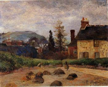 Paul Gauguin : Returning from the Harvest