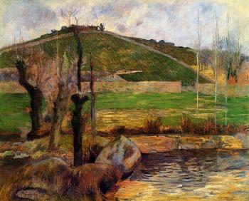 Paul Gauguin : River Aven below Mount Sainte-Marguerite