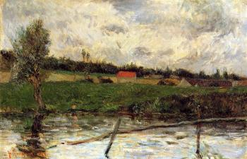 Paul Gauguin : Riverside