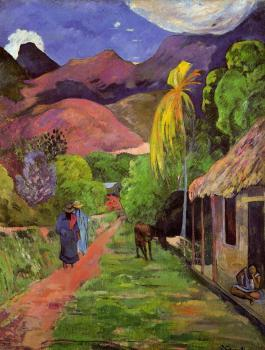 Paul Gauguin : Road in Tahiti