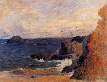 Paul Gauguin : Rocky Coast
