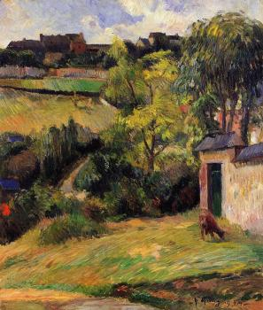 Paul Gauguin : Rouen Suburb