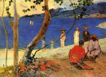 Paul Gauguin : Seashore, Martinique