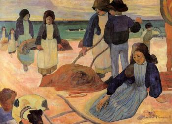 Paul Gauguin : Seaweed Gatherers