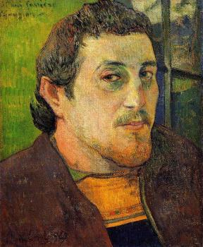 Paul Gauguin : Self Portrait at Lezaven
