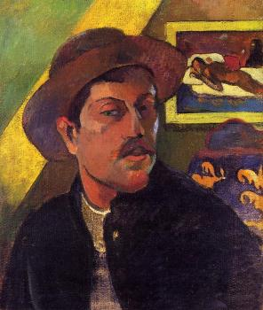 Paul Gauguin : Self Portrait with Hat