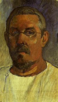 Paul Gauguin : Self Portrait with Spectacles