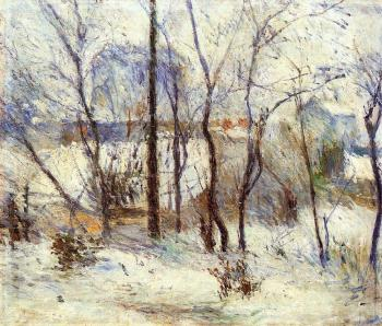 Paul Gauguin : Snow at Vaugirard
