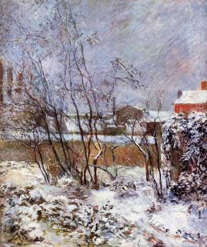 Paul Gauguin : Snow, Rue Carcel