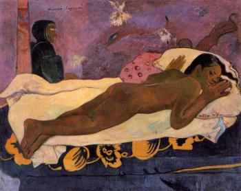 Paul Gauguin : Spirit of the Dead Watching