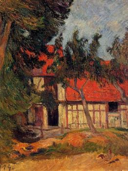Paul Gauguin : Stable near Dieppe