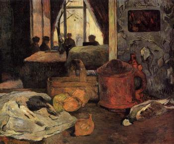 Paul Gauguin : Still Life in an Interior, Copenhagen