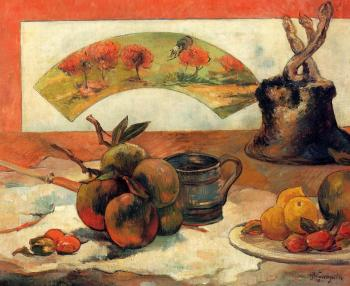Paul Gauguin : Still Life with Fan