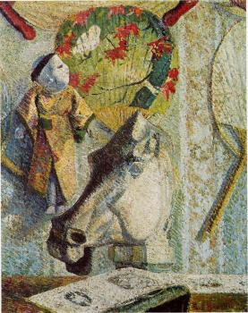 Paul Gauguin : Still Life with Horse's Head