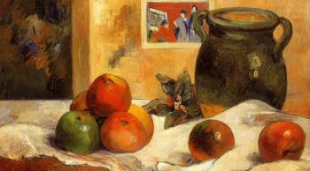 Paul Gauguin : Still Life with Japanese Print