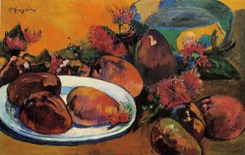 Paul Gauguin : Still Life with Mangoes