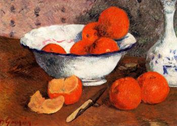 Paul Gauguin : Still Life with Oranges