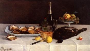Paul Gauguin : Still Life with Oysters