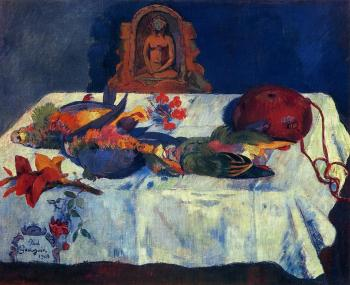 Paul Gauguin : Still Life with Parrots