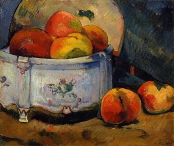 Paul Gauguin : Still Life with Peaches