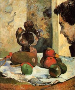 Paul Gauguin : Still Life with Profile of Laval