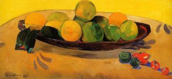 Paul Gauguin : Still Life with Tahitian Oranges
