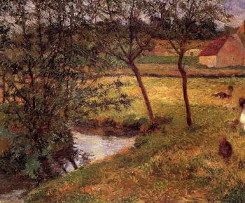 Paul Gauguin : Stream, Osny