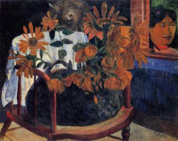 Paul Gauguin : Sunflowers